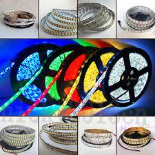 5M LED Flexible Strip Light 3528 2835 3014 5050 5054 5630 5730 7020 SMD 12V DC