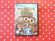 Zoo Tycoon 2 Zoodirektor Sammlung PC Spiel in OVP mit Anleitung