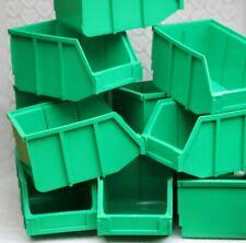 INTERBIN GREEN X10 GARAGE/WORKSHOP HOME STORAGE BINS