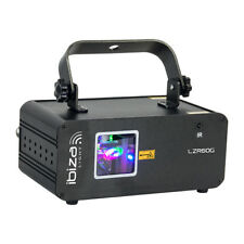 Ibiza Light LZR60G 60MW Green Graphic Laser DJ Disco Lighting Effect inc Remote