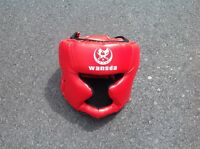 Inflatable Accessories Boxing Helmet Red