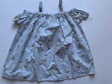 Pippa & Julie New Blue Baby Girls Butterfly Dress