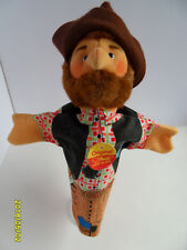 Steiff doll robber handpuppet all Ids stuffed animal made Germany 2633