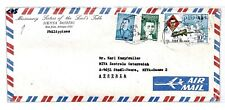 CP5 Philippines Missionary Sisters of the Lords Table 1978 Air Mail Cover