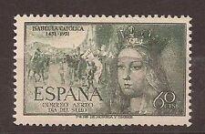 ESPAÑA AÑO 1951 EDIFIL 1097 * MH Con Fijasellos - ISABEL LA CATOLICA - 60 cts