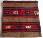 Vintage Turkish Kilim pillow cover (#12)