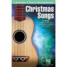 Ukulele Chord Songbook Christmas Songs Sheet Book Chords & Lyrics Music SongBook
