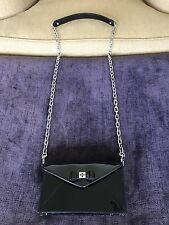 Tory Burch Black Patent Leather Envelope Bow Cross Body!!!