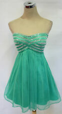 SEQUIN HEARTS Mint Hot Dance Party Dress 7 - $70 NWT