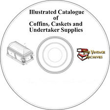 Illustrated Catalogue of Coffins, Caskets and Undertaker Supplies(1885) on CD