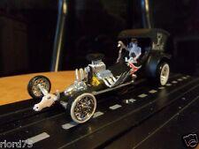 "Tom Daniels -""Bad Medicine"" Custom Built Rat Rod  Dragster HO Slot"