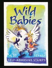 Australia 2017b Mint Nh, 2001 Sa Wildbabies Booklet