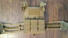 Crye Precision Jumpable Plate Carrier, Medium - Coyote Brown