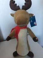 """Twisting Reindeer Rudolf Scarf Button Kids Toy Ideal Gift,17""""/43 Cm"""