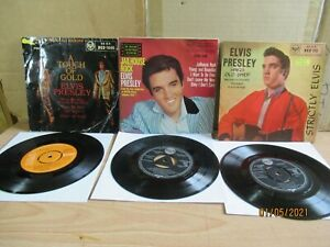 The Elvis Presley Picture Sleeve EP's Mix