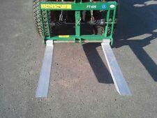 GEO FT 600 Palettengabel Heckanbau Heckgabel verstellbar Traktor BBS Forst