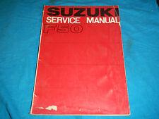 1970 70 1971 71 Suzuki F50 F 50 Shop Service Repair Manual