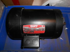 "Leeson (Quip) C6T17FK45E 1HP Motor ""NEW"""