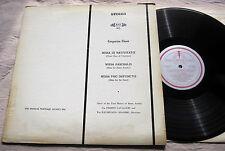 "Gregorian Chant Frati Minori Busto Arsizio Musical Heritage Society MHS915 12""LP"