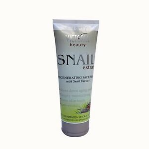 Regenerating Face Mask With Snail Extract - Anti-Wrinkle - Deeply Moisturizing