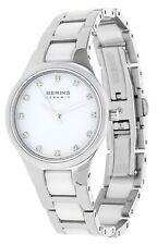 Bering Damen Armbanduhr Ceramic silber 32327-754