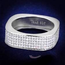 Markenlose Modeschmuck-Ringe im Band-Stil aus Sterlingsilber