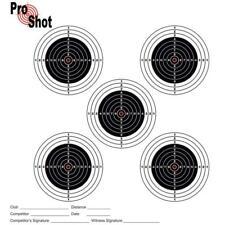 ProShot AIR FUCILE pratica corrispondenza obiettivi 17x17cm Confezione da 100 Qualità Carta sottile