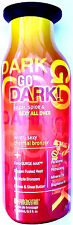 Go Dark Hot Bronzer w/ Tingle Tanning Lotion by Synergy - Indoor / Outdoor