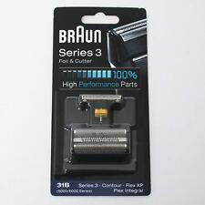 BRAUN Mens Shaver Foil and Cutter 31B 5000 6000 Series3 Contour Flex XP Integral