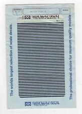 """87-226-7 Barricade Stripes 6"""" HO Scale"""