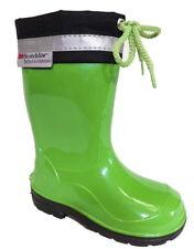 Scarpe verdi per bambini dai 2 ai 16 anni gomma , Numero 21