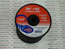 12175 (Case of 9) BLACK VORTEX LINE TRIMMER LINE .095 x 685' MEDIUM SPOOLS