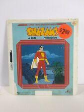 Shazam! Captain Marvel DC Comics CED VideoDisc Rare Vintage