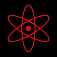 Atom Decal / Sticker - Choose Size & Color - Big Bang Theory, Ray Palmer, DC