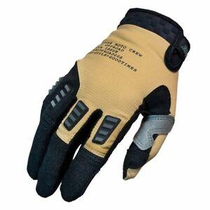 New Fasthouse Khaki/Black Strike Offroad Gloves Adult Sizes