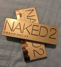 Urban Decay Naked 2 Palette 12 Taupe Hued Eyeshadows 1 Double Ended Brush $54