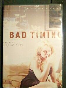 Bad Timing DVD Criterion Collection 2005 Nicolas Roeg Art Garfunkel