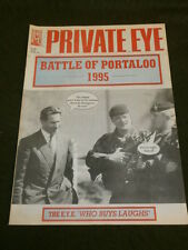 PRIVATE EYE # 883 - BATTLE OF PORTALOO - 20 Oct 1995