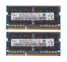 """Hynix 16GB 2X 8GB 1600MHz PC3-12800 DDR3L MacBook Pro 13"""" Mid-2012 A1278 Memory"""