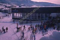 1975 Steamboat Ski Resort 35mm Slide 1970s Vtg Colorado Skiers Mountain Lodge