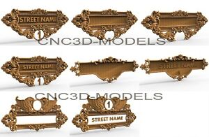 3D Model STL for CNC Router Engraver Carving Artcam Aspire Decor Wood n100
