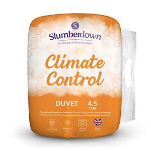Slumberdown Climate Control 4.5 Tog Summer Cool Breathable Hollowfibre Duvet