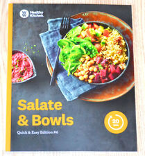 Weight Watchers Ww Libro Cucina Salate & Ciotole Edition #6 Fitpoints Punti