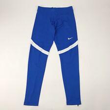 New Nike Power Stock Race Day Tight Men's Large Blue Legging Running 835955 $60