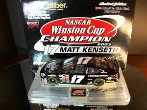 Matt Kenseth #17 Smirnoff Ice Autographed Winston Cup Champion 2003 Ford Taurus