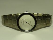 SKAGEN SLIM MEN'S STAINLESS STEEL EXECUTIVE / DRESS WATCH