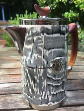 More details for arthur wood silver shield hot chocolate / water pot jug kettle