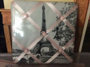 Claire's Gray Paris Picture Board, NWT