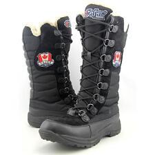 Pajar Greenville HI LUP BT Women US 8 Black Snow Boot Pre Owned  1215