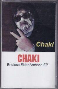 CHAKI: Endless Elder Archons EP cassette tape Devo inspired Funk The Funk Wizard